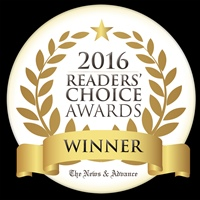 Lynchburg News & Advance 2016 Readers' Choice 1st Place Award