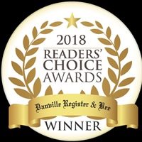 Danville Register & Bee 2018 Readers' Choice 1st Place Award
